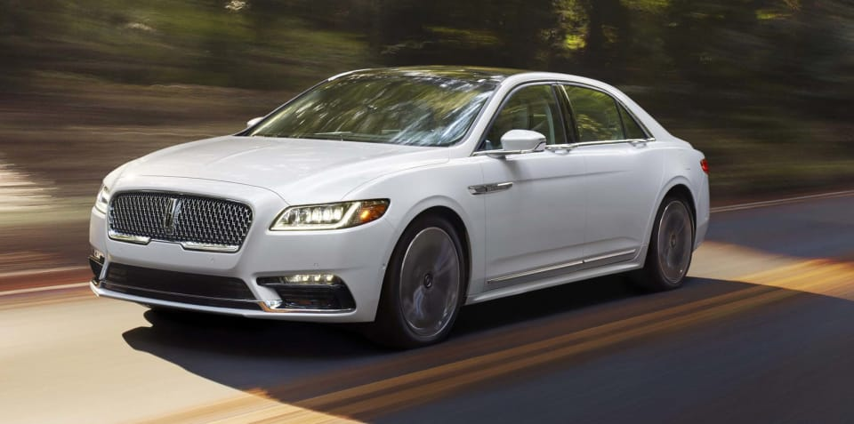 2017 Lincoln Continental revealed in Detroit