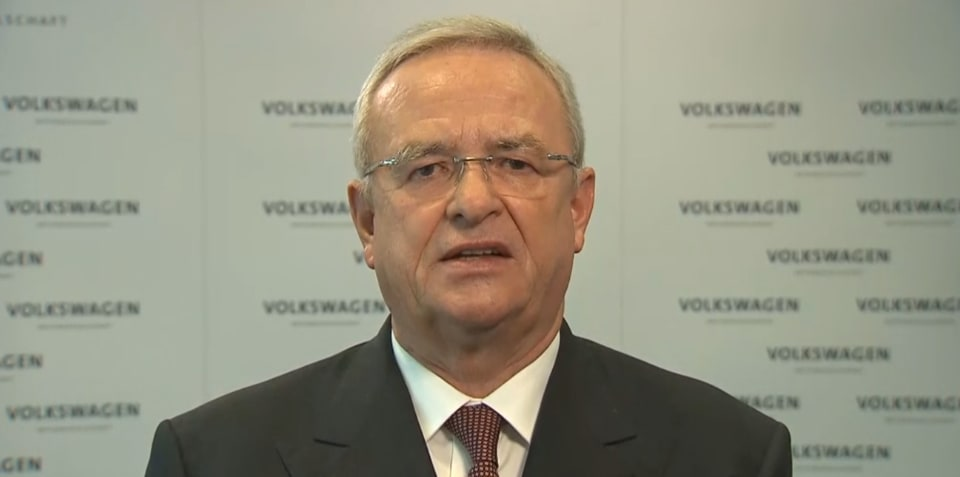 Former Volkswagen CEO charged in Germany over Dieselgate affair