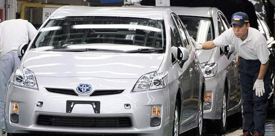 New Toyota Prius production nears full capacity