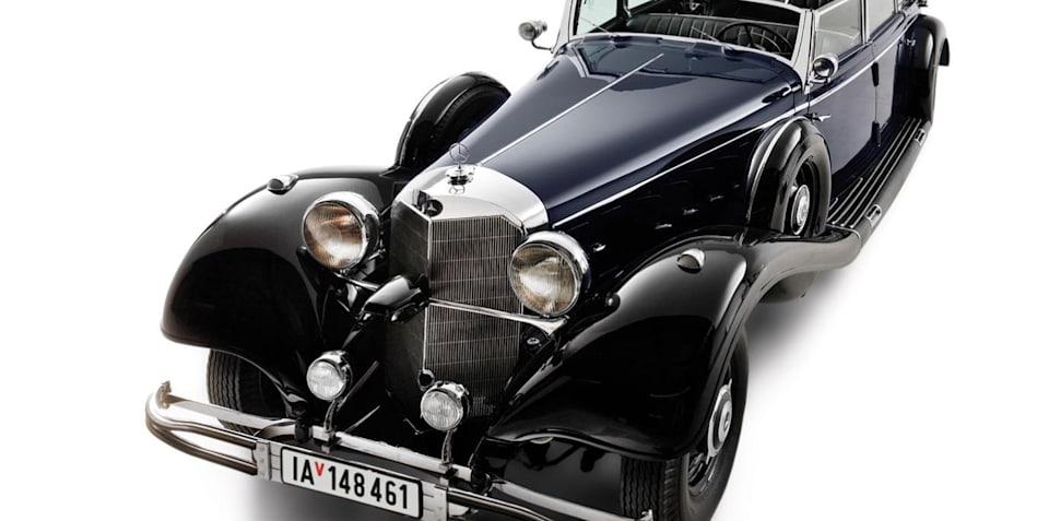 Hitler's Mercedes 770K Grosser up for auction