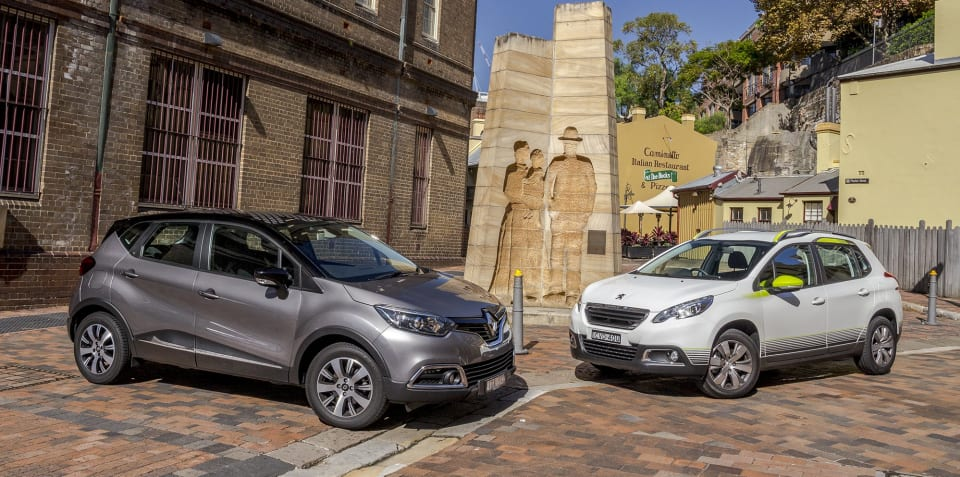 Peugeot 2008 v Renault Captur : Comparison Review