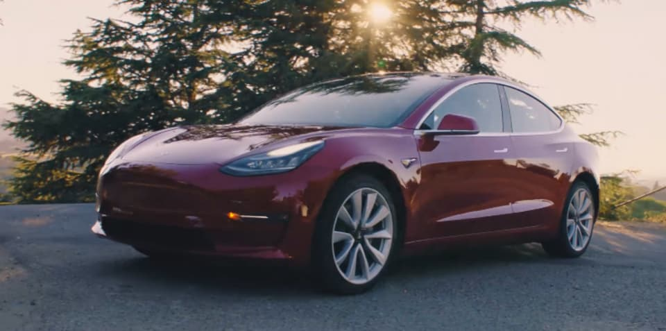 Tesla Model 3: 'Mid-Range' sedan launched