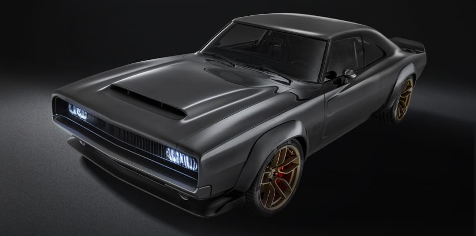 Dodge Super Charger concept launches 746kW Hellephant V8 engine