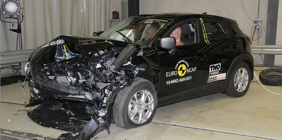 Mazda CX-3 four-star Euro NCAP crash test shock - UPDATE