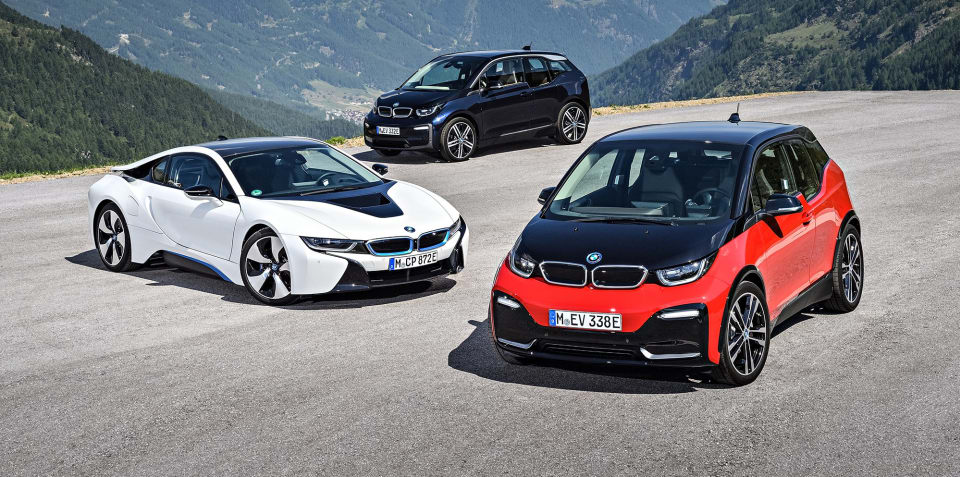 "BMW ""misjudged the situation"" on electric cars"