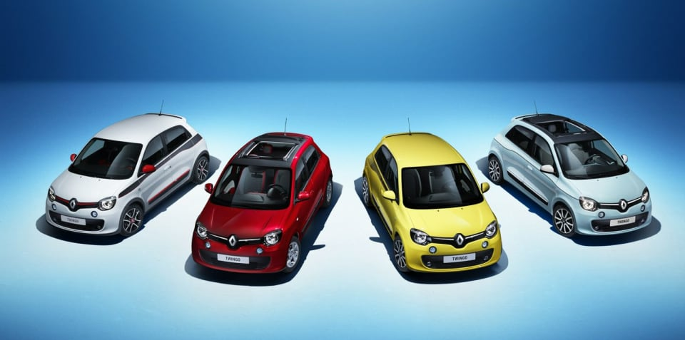 2015 Renault Twingo : more pictures of rear-drive, rear-engined runabout