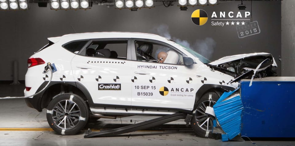 "Hyundai Tucson four-star safety rating ""disappointing"", says ANCAP"