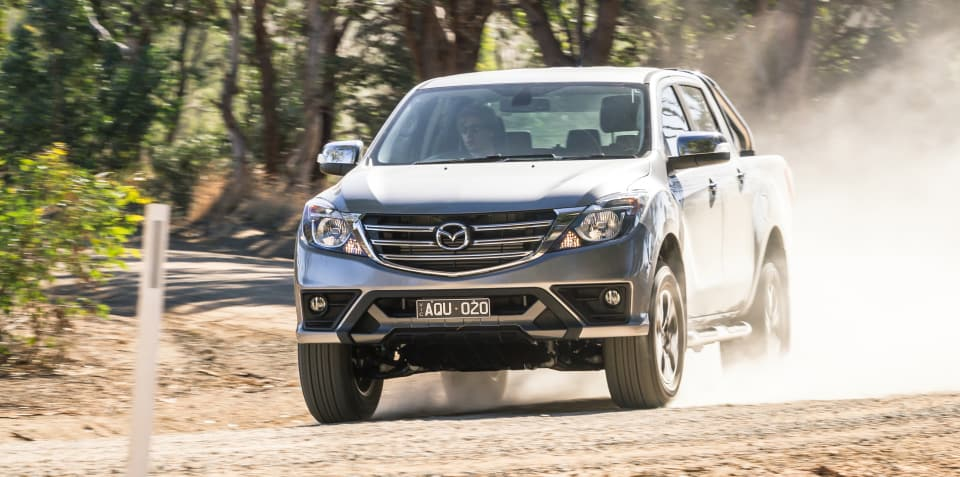 2018 Mazda BT-50 pricing and specs