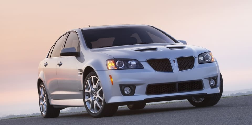 Pontiac G8 not yet dead - GM boss
