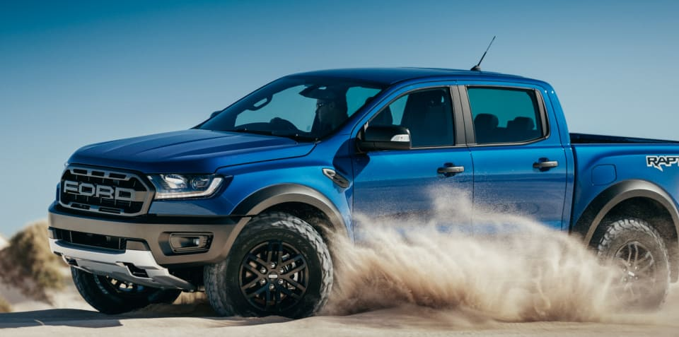 Ford: Raptor to boost 4x4 Ranger sales further beyond HiLux