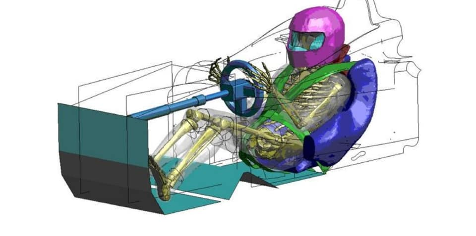 Toyota develops virtual crash dummies