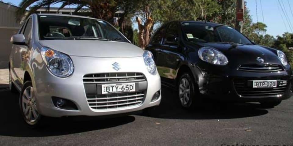 Suzuki Alto v Nissan Micra: light car comparison