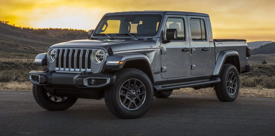 2020 Jeep Gladiator unveiled