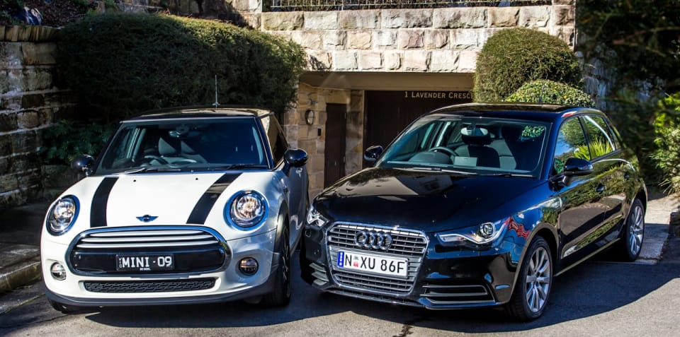 Audi A1 V Mini Cooper Comparison Review