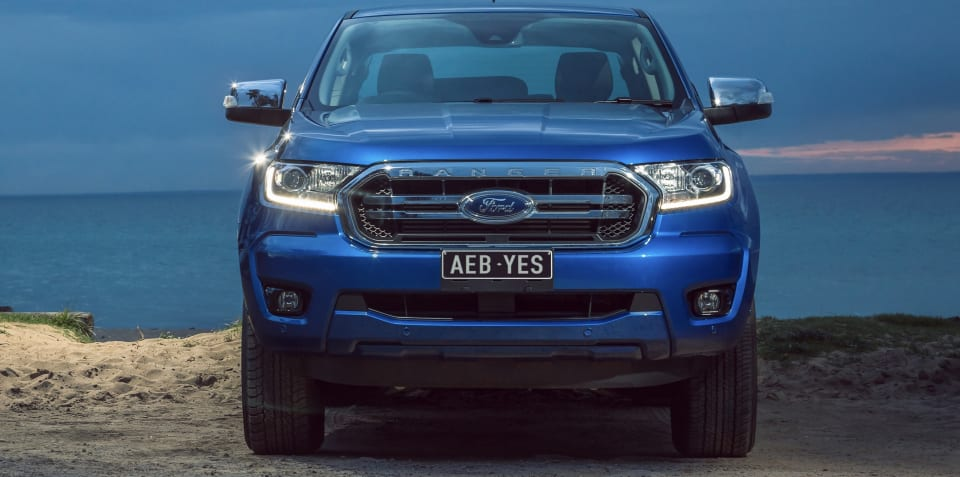 2019 Ford Ranger: Autonomous emergency braking standard, pressure on other utes to follow