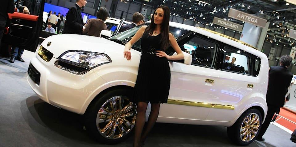 Kia Diva 2008 Geneva Motor Show