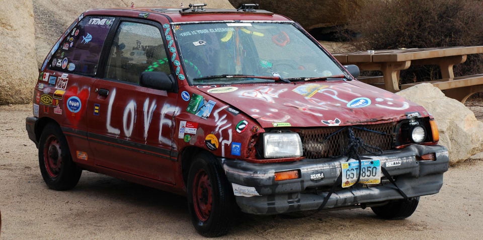 Naughty car names: Happy Valentine