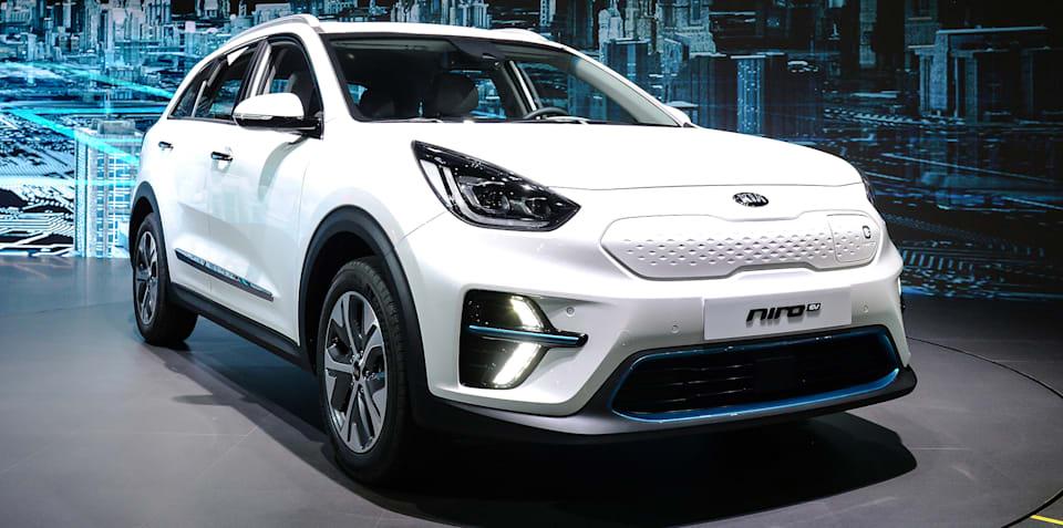Kia Niro EV: New details revealed at Busan motor show