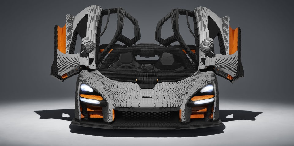 McLaren Senna: Full scale Lego model revealed