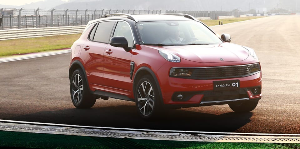 2018 Lynk & Co 01 review: Prototype drive