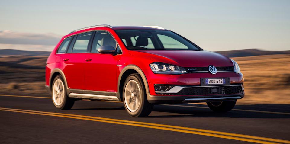 Volkswagen Golf Alltrack priced from $37,990