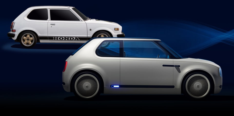 Honda's reborn Civic is this year's sweetest concept