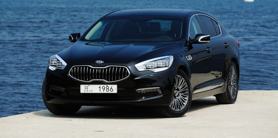 Kia K900/Quoris to get refreshed in New York - report