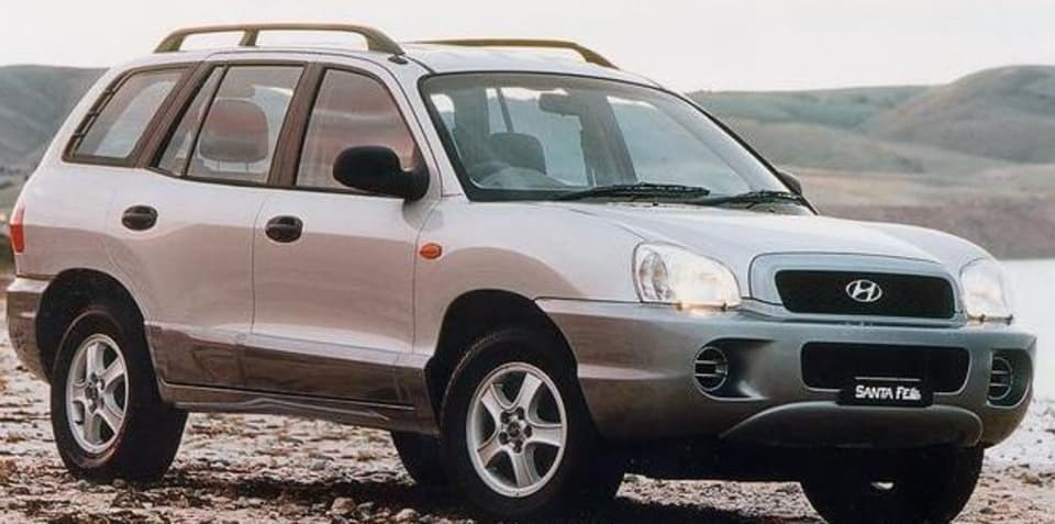 2003 santa fe hyundai