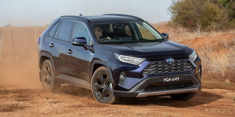 2019 Toyota RAV4: Over 60% of sales hybrid