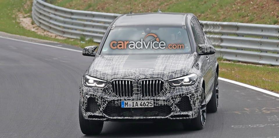 2020 BMW X5 M spied