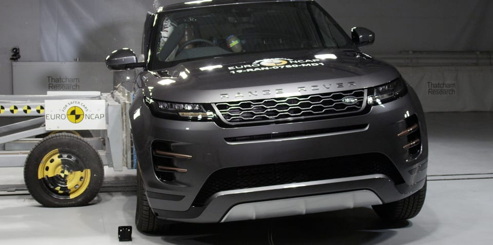 Euro NCAP: Evoque scores five stars, C5 Aircross gets four