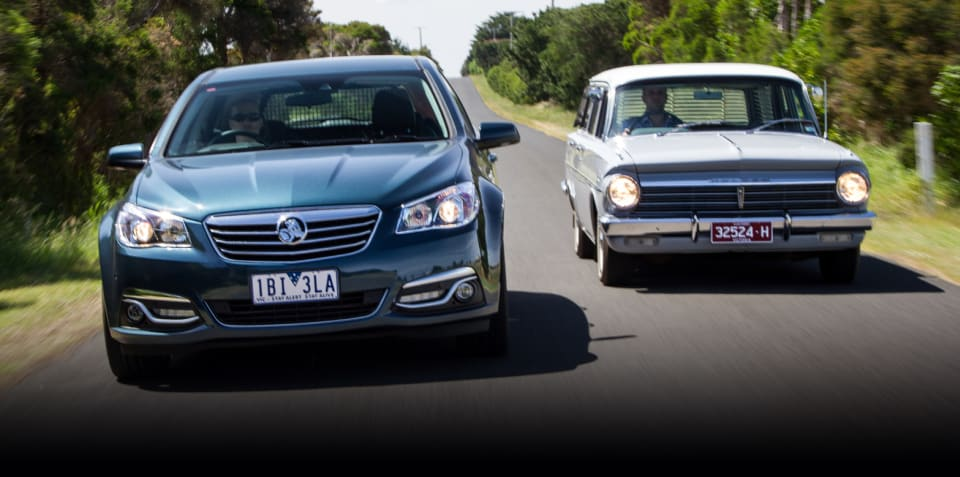 REVISIT: Calais V Sportwagon v EH Holden Special Station Sedan