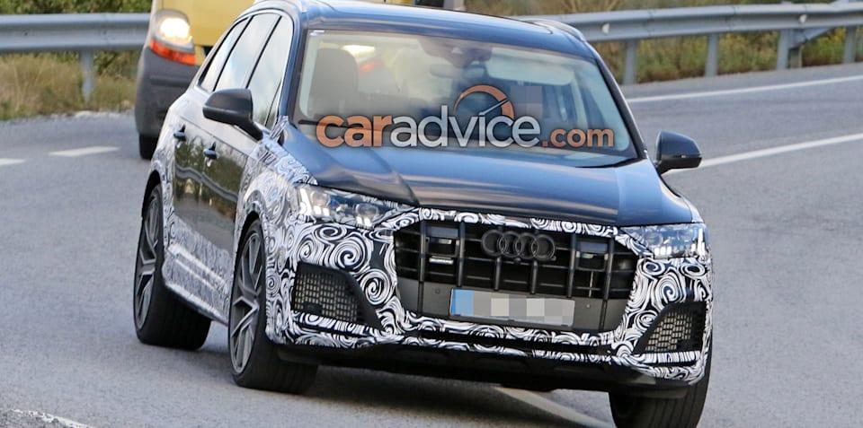 2019 Audi SQ7 spied