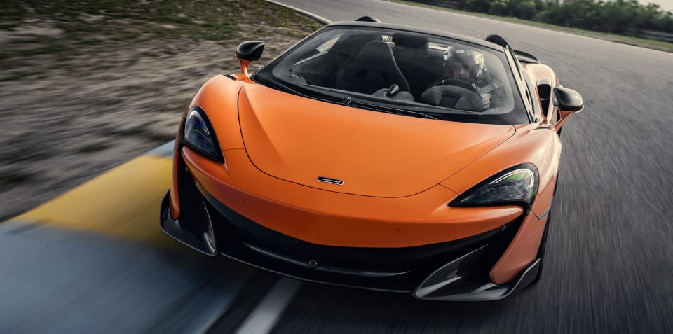 2019 McLaren 600LT Spider review