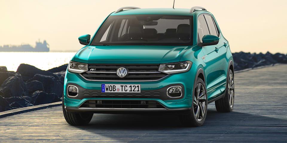 2019 Volkswagen T-Cross revealed