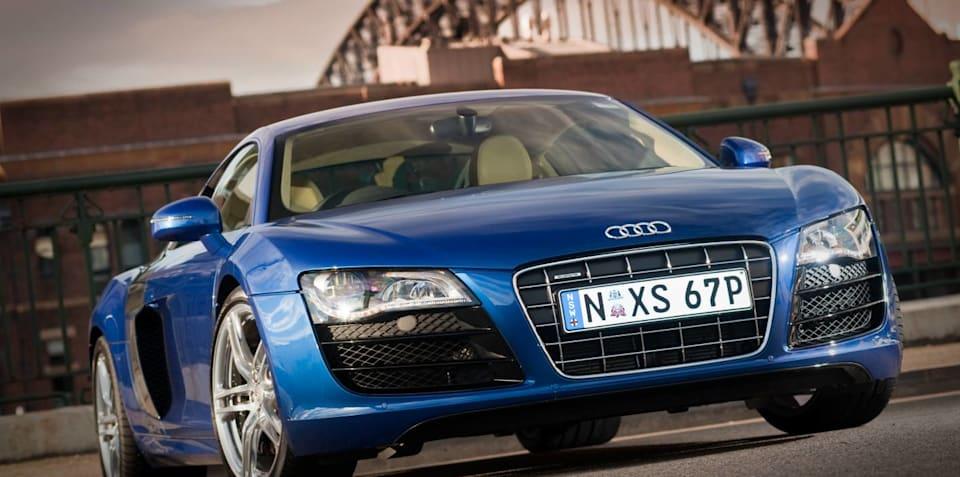 Audi R8 V10 is
