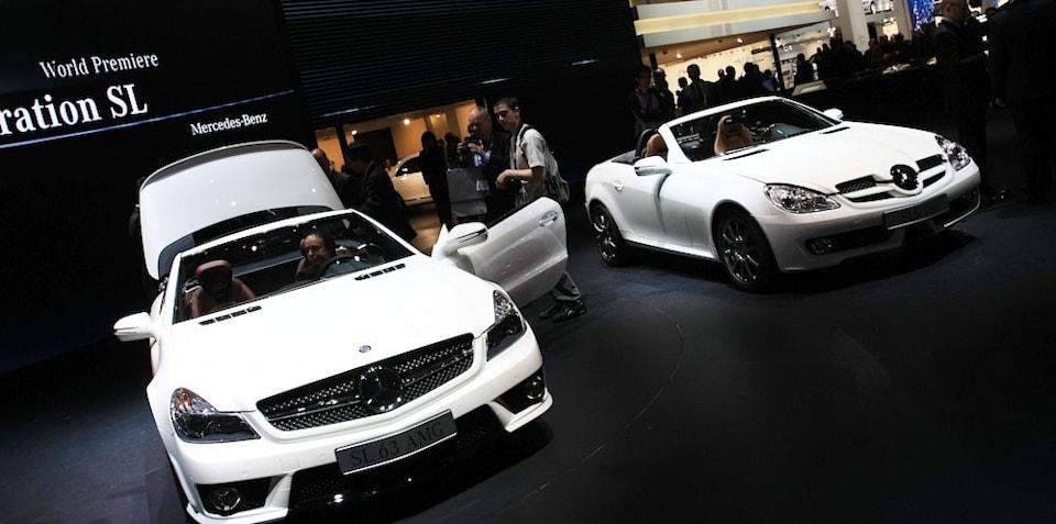 Mercedes-Benz stand 2008 Geneva Motor Show