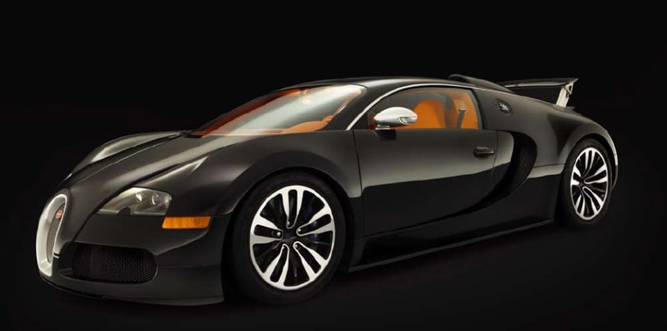 Bugatti Veyron Sang Noir revealed