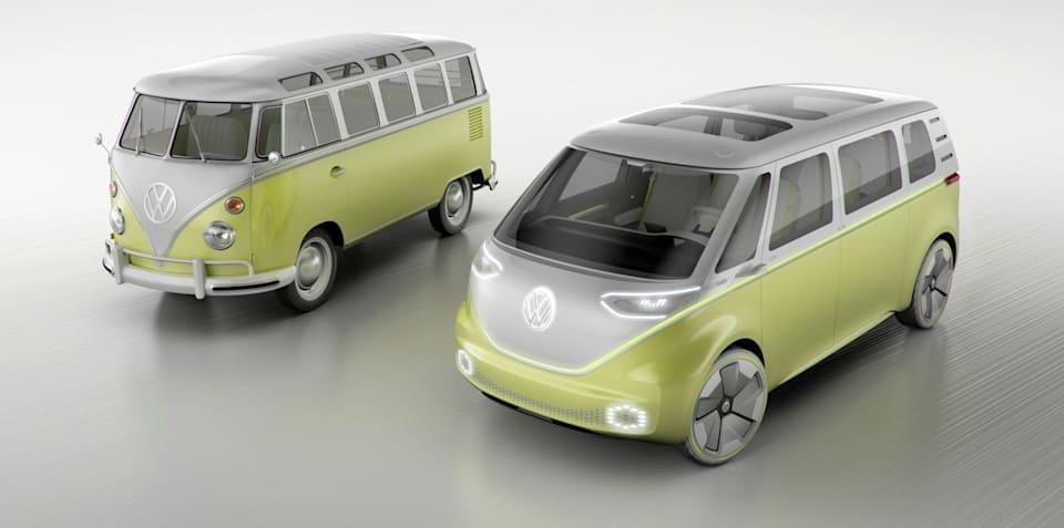 VW Kombi electric vans coming to Australia in 2022