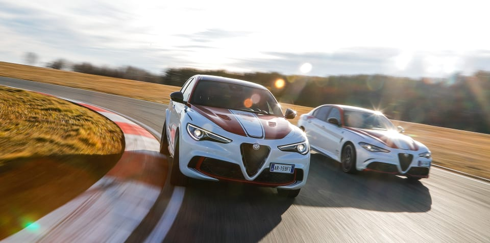Alfa Romeo Giulia QV, Stelvio QV limited editions revealed