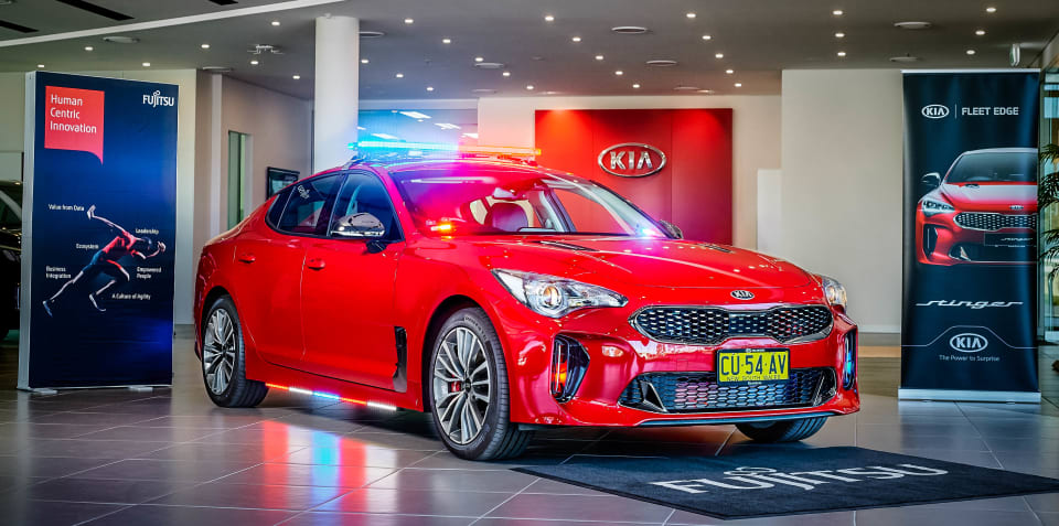 Kia and Fujitsu create the cop car of the future
