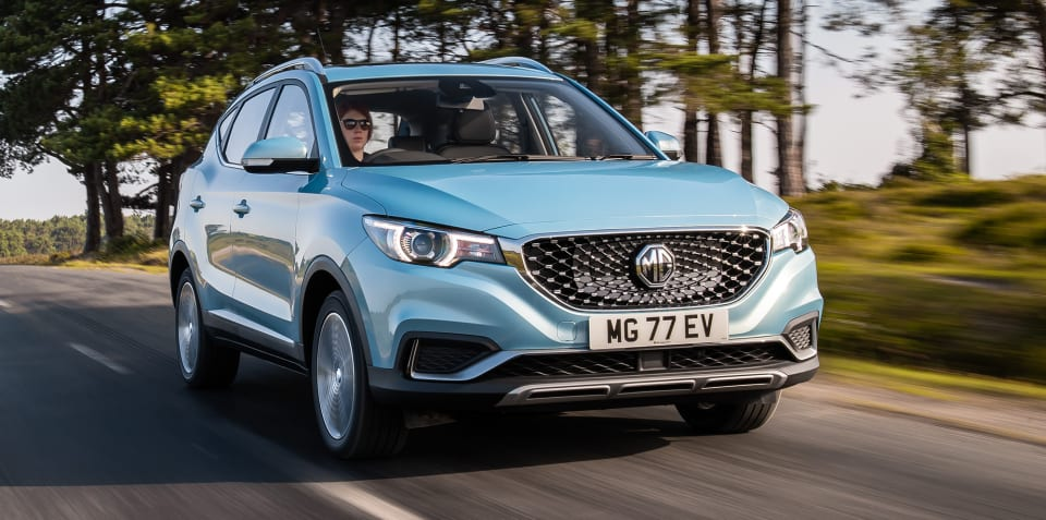 2019 MG ZS EV priced for the UK
