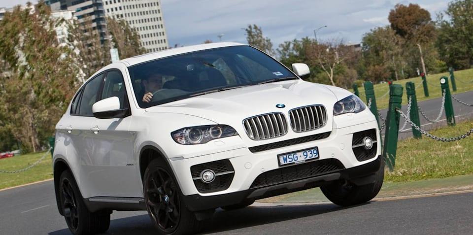 BMW X6 outsells Porsche Cayenne