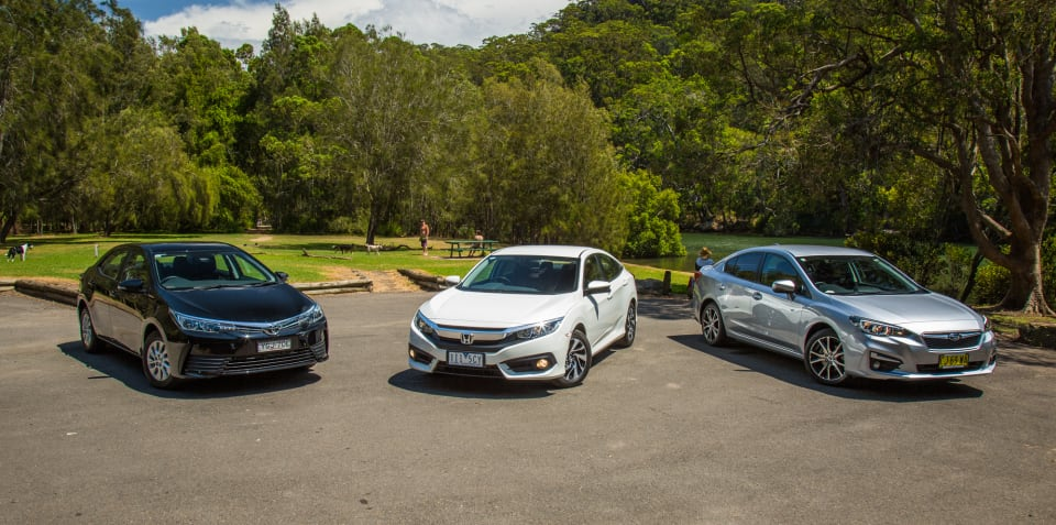 Small car sales: Corolla, Mazda 3, Golf, Civic and more
