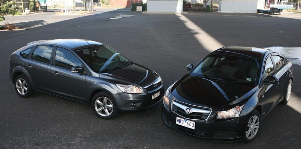 Holden Cruze vs Ford Focus Diesel