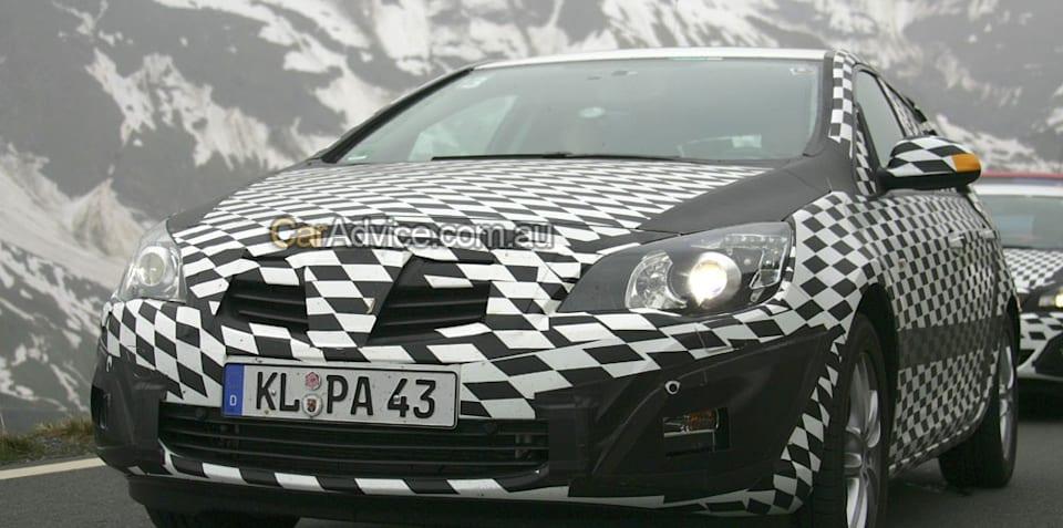 Holden Opel Astra Spy Photos