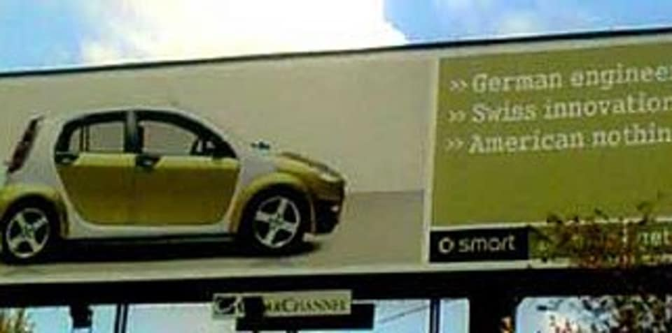 Smart Car, Dumb Ad?
