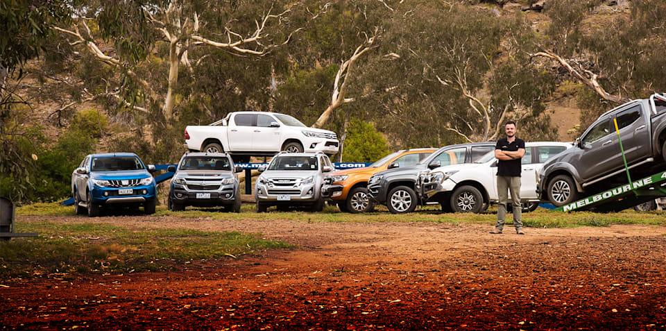 2018 Ford Ranger v Toyota HiLux v Mitsubishi Triton v Nissan Navara v Holden Colorado v Isuzu D-MAX v Mazda BT-50 v Volkswagen Amarok