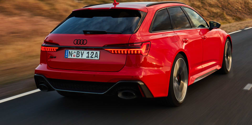 2020 Audi RS6 Avant review