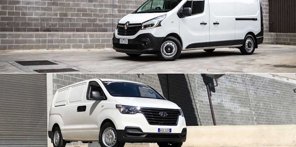 Spec shootout: 2021 Renault Trafic v 2021 Hyundai iLoad